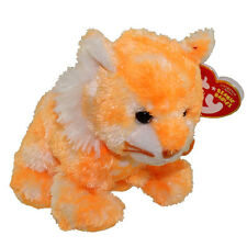 TY Beanie Baby - SANDALS the Tiger (5 inch) - MWMTs Stuffed Animal Toy