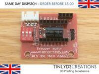 A4988 / DRV8825 3D Printer Stepper Motor Control Extension Board Ramps 1.4