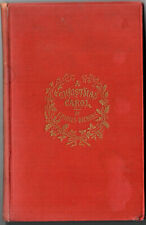 Charles Dickens. A Christmas Carol. Chapman and Hall. 1891. New Edition