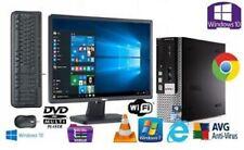 POSTAZIONE COMPLETA PC COMPUTER FISSODUAL CORE USATO ECONOMICO +MONITOR A SCELTA