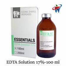 EDTA 17% Root Canal Irrigating Solution Dental Essentials Refill 100 ml