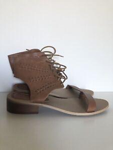 Forever 21 Brown Gladiator - Size 10