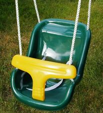 Swingset bucket swing,Baby bucket swing,toddler swing,infant swing, play set,GRN
