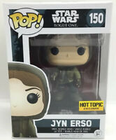 Funko Pop Star Wars Rogue One JYN ERSO 150 Hot Topic Exclusive #3