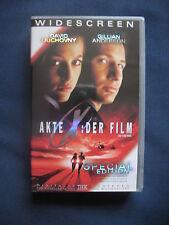 VHS Akte X der Film Special Edition Widescreen The X-Files, Videokassette