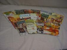 "Lot of 15 ""Old-House Interiors""  Magazines for DIY Remodeling Renovation F198"