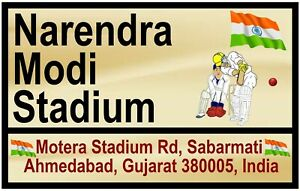 Cricket - Touriste Signes (Inde) - Souvenir Nouveauté Frigo Aimant - Nouveau /
