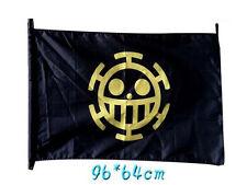 70x120 cm One Piece Bandiera Trafalgar Law per Adulti