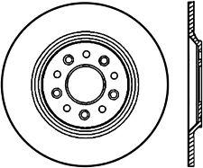 Disc Brake Rotor-SE Rear Left,Rear Stoptech 127.61081CL