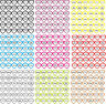 36 Gewürz Aufkleber selbstklebend Gewürzetiketten transparent/weiß Wasserfest03