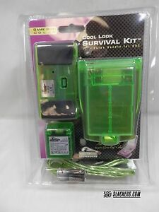 Pelican Cool Look SURVIVAL KIT Gameboy COLOR NEW! AC Charger Light  -Pick Color!