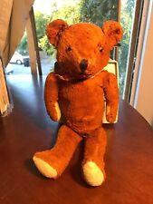 Antique Teddy Bear - cinnamon red