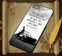 If One Day Paul Walker IPhone 5 5S 6 6S 6Plus 6SPlus 7 7Plus 8 8plus Case