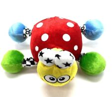 Baby Toy Colorful Red Stuffed Animal Squeaker Rattler Rattles Circus Lady Bug