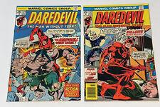 Daredevil #131 (Mar 1976)  Marvel Comics  1st Bullseye Appearance & #129 ManBull