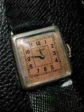 VINTAGE STERLING SILVER MOVADO WATCH-100Yrs OLD, ALL ORIGINAL!!