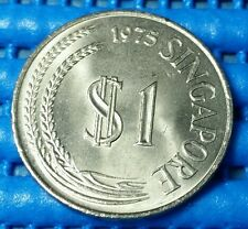 1975 Singapore $1 Stylised Lion Coin