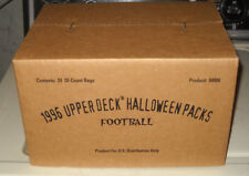RARE FULL CASE 1996 UPPER DECK FOOTBALL PACKS HALLOWEEN TRADING CARDS
