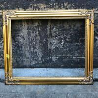 "Vintage 20""x24"" Painted Gold Ornate Picture Frame for 16""x20"""