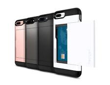 Spigen For Apple iPhone 7 PLUS [Slim Armor CS] Case Wallet Card Slot Cover TPU