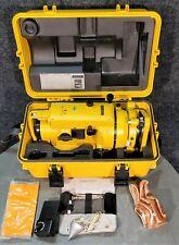 Topcon Tl-60Se Theodolite + Hard Case, Accessories