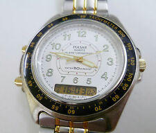 PULSAR QUARTZ. LCD DISPLAY. CHRONO. ALARMA. NUEVO. NEW.