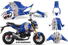 AMR Racing Honda GROM 125 Graphic Kit Bike Decal Motorcycle Parts 2017+ WARHAWK