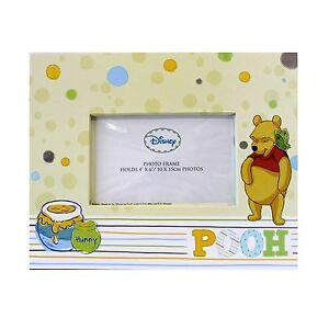 "NEW DISNEY WINNIE THE POOH BEAR KIDS PHOTO FRAME 4"" x 6"" PHOTOS E89007"