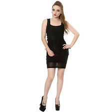 Banned Apparel Without A Trace Black Gothic Witch Lace Mini Fitted Bodycon Dress
