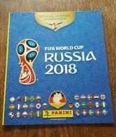Panini WM 2018 Leeralbum Album World Cup FIFA 18 Russia Russland
