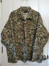 5.11 TACTICAL SERIES Camouflage Digital Woodland Shirt Padded Elbow Men's X-LG