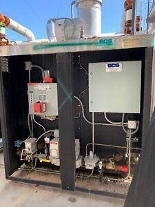 Parker boiler 70 HP steam boilers (2),  feed water tank/pumps