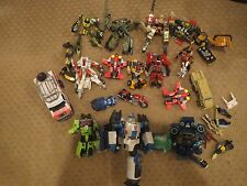 Transformers HUGE LOT w/ RESCUE RATCHET & MORE Cybertron Armada RID movie