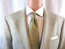 Club Room Mens wool/silk/linen Spring/Summer Tan blazer Sport Coat size 40 short