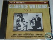 CD JAZZ ARCHIVES 176 CLARENCE WILLIAMS VOL 2