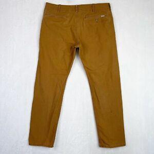Levi's Men's Size 34x27 Chino Pants Brown Regular Straight Causal Modern