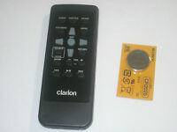 CLARION RCB-198 NX604 REMOTE CONTROL OEM NEW