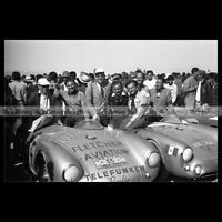 #pha.020823 Photo PORSCHE 550 SPYDER CARRERA PANAMERICANA 1954 Car Auto