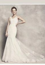 ❤💛💜Absolutely stunning ivory mermaid fishtail wedding dress size 16 bnwt❤💛💜