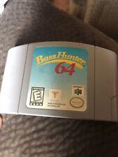 Bass Hunter 64 (Nintendo 64, 1999) n64 Cart Only