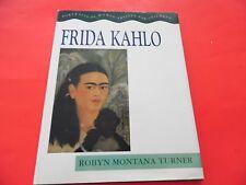 HCDJ -Frida Kahlo : Portraits of Women Artists for Children   (hardcover;ExCond)