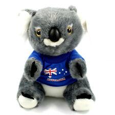 Australian Souvenir 21cm Plush Koala Soft Toy Blue Australia Flag T-shirt