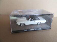 242H Fabbri Ford Thunderbird James Bond Goldfinger 1:43