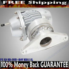 BOV+Adapter for SSQV bov Flange to Top Mount Intercooler Flange for Subaru WRX