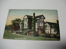 Lot72v - 1905 MORETON OLD HALL Cheshire POSTCARD