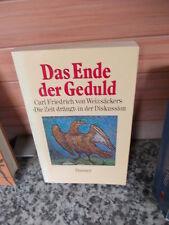 Das Ende der Geduld, aus dem Hanser Verlag