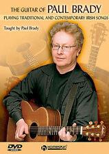 GUITAR DVD Irish Traditional Learn To Play Paul Brady PICKING SONGS HARMONIES