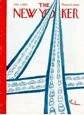 1961 Abe Birnbaum Art COVER ONLY-Traffic on Figure Four Highway