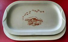 Vassoio Barilla mulino bianco vintage anni 80 ceramica da collezione mai usato