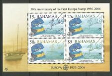 Stamps-BAHAMAS. 2005. Europa Stamps Miniature Sheet. SG: MS1395. MNH